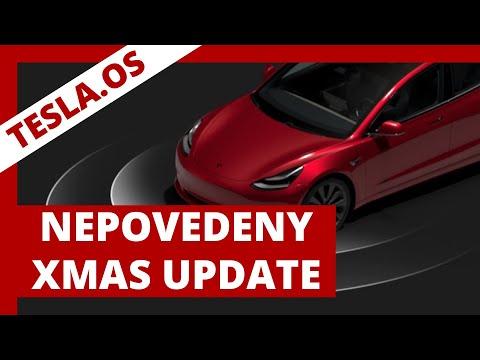 #249 TeslaOS Nepovedený Vánoční update FW 20.48.26 | Teslacek