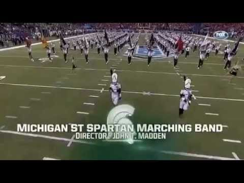 Spartan Marching Band at the B1G Championship Game