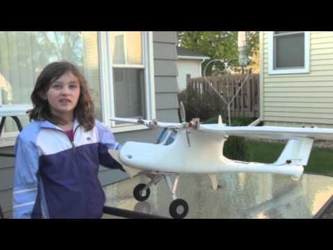 RCDOX 2012 SKYWALKER FPV flight envelope testing RC plane