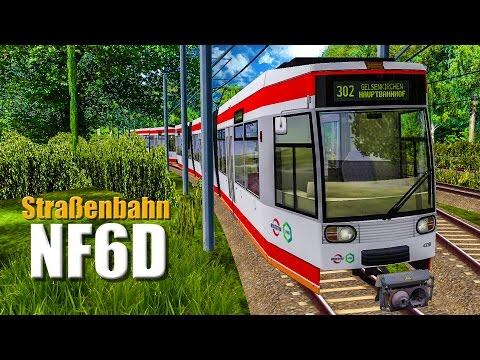 OMSI 2 Straßenbahn NF6D #7 - Mit der DOPPELTRAKTION auf Schalke! |
