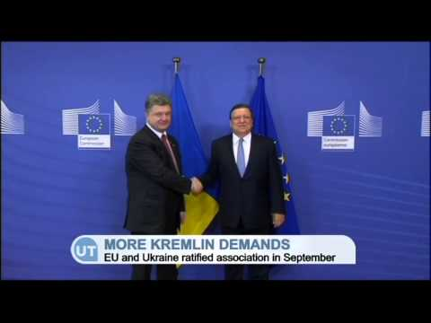 Russia Demands Changes to Ukraine-EU Agreement: Moscow wants to alter landmark deal