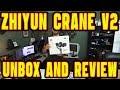 Zhiyun Crane V2 - Unboxing and Setup and Initial Impressions