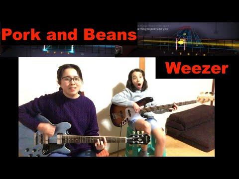 #Rocksmith - Pork and Beans - #Weezer  - guitar and bass