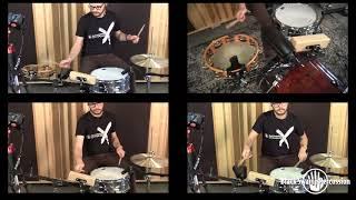 BSP RecPlate: Drum Set Groove