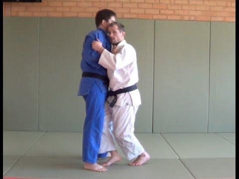 Ouchi Gari (Great Inner Reap) with Judo Black Belt Matt D'Aquino