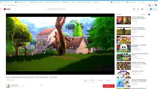 Fortnite Battle Royale Cinematic Pack #2 FREE DOWNLOAD 140+ Shots YouTube Google Chrome 201