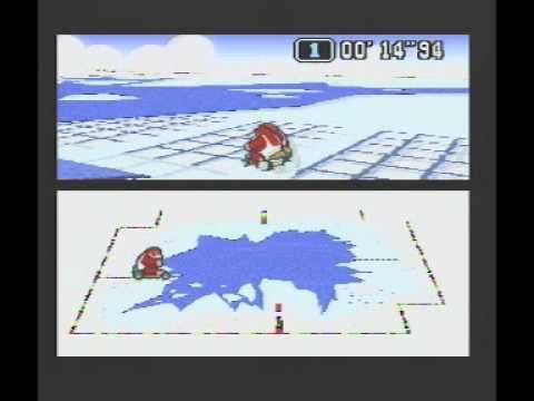"Super Mario Kart (PAL) Time Trial : Vanilla Lake 2 (VL2) - 48""09 non-NBT (World Record)"