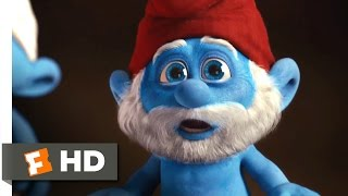 The Smurfs (2011) - Papa Smurf's Sacrifice Scene (7/10) | Movieclips