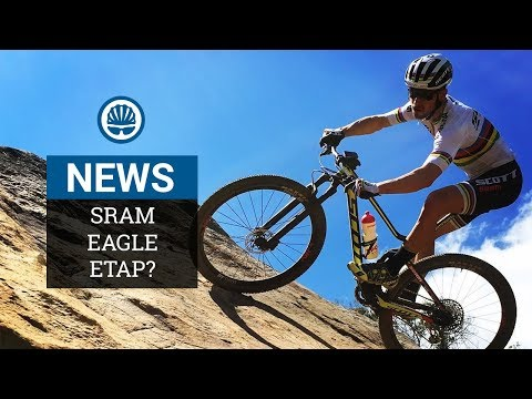 SRAM eTap Eagle - Wireless MTB Groupset Spotted In The Wild?
