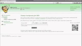 SMS-Form.Ru. Видеоурок
