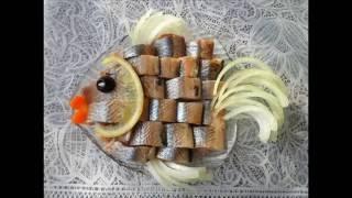 Праздничное  украшение блюд. .