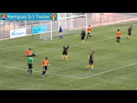 Résumé: FC Martigues - Sporting Toulon | La rade Toulonnaise