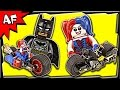 Lego Batman Gotham City Cycle Chase 76053 Stop Motion Build Review