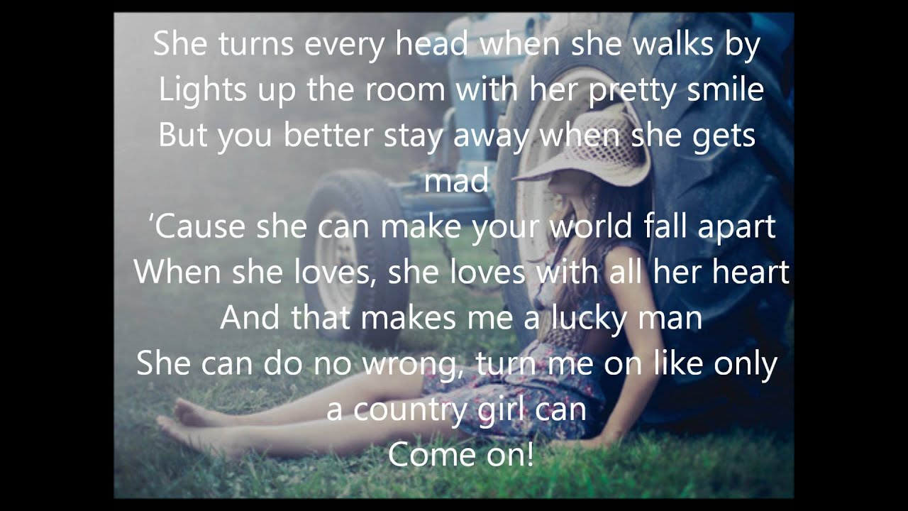 Only A Country Girl Chase Rice Lyrics Youtube
