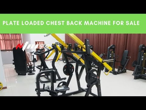 Plate Loaded Chest Back Machine For Sale, Buy Hammer Strength Online