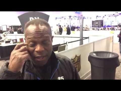 Super Bowl Media Center And Vern Glenn #SB50