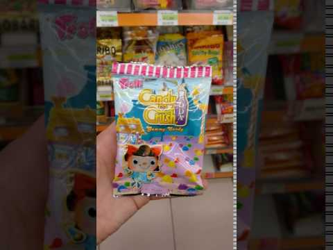 Trolli Candy Crush Soda Gummy Candy - Spotted At SEOUL 7/11
