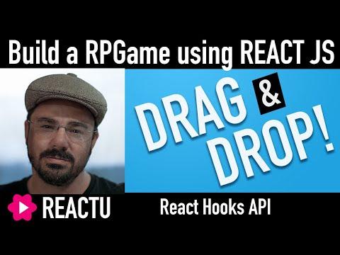[React JS DRAG AND DROP] Building an RPG Game using ReactJS thumbnail