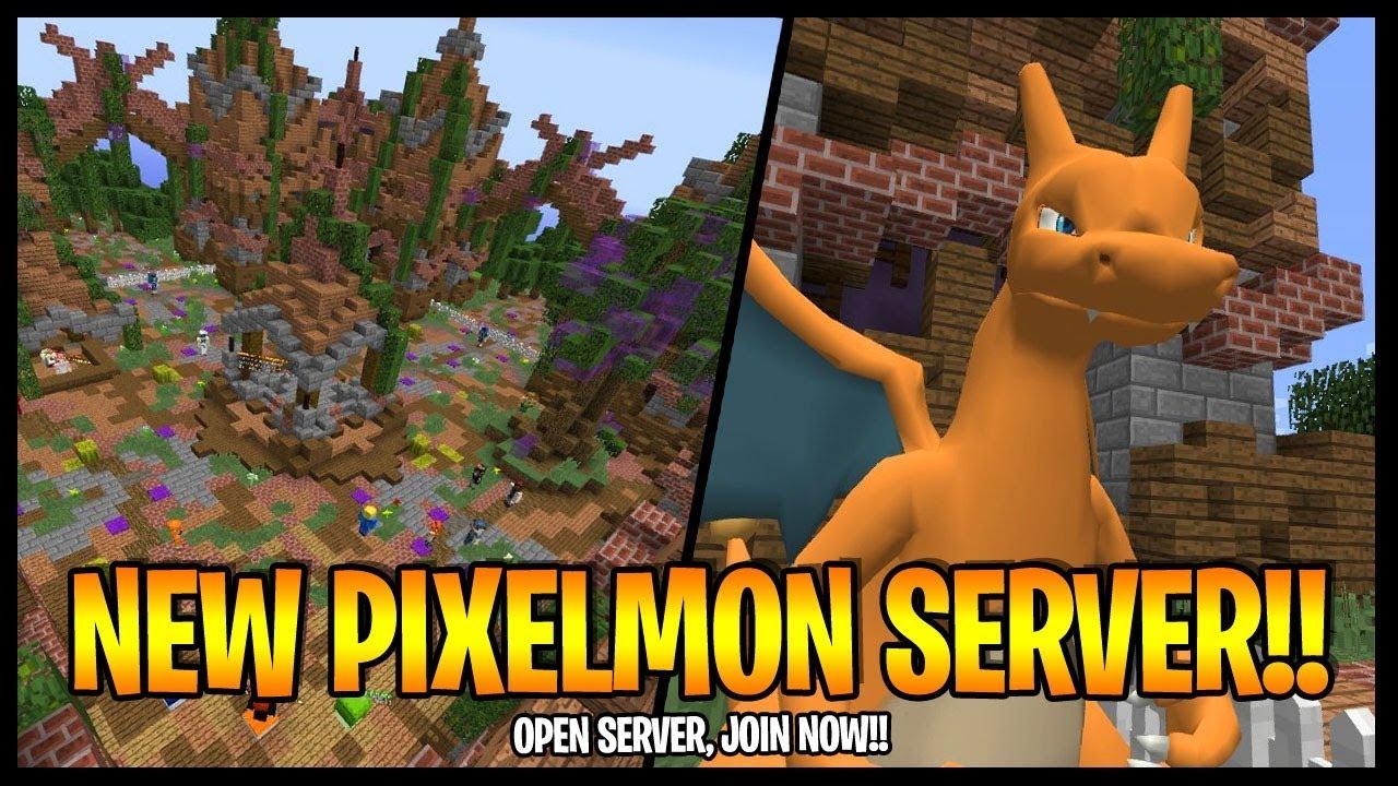 MINECRAFT PIXELMON SERVER LAUNCH How To DOWNLOAD Pixelmon