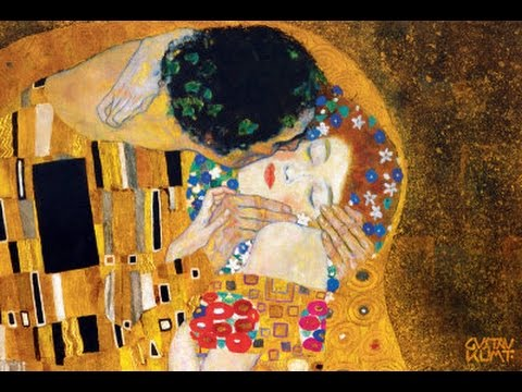 Gustav Klimt brief biography and paintings/ great for kids and esl