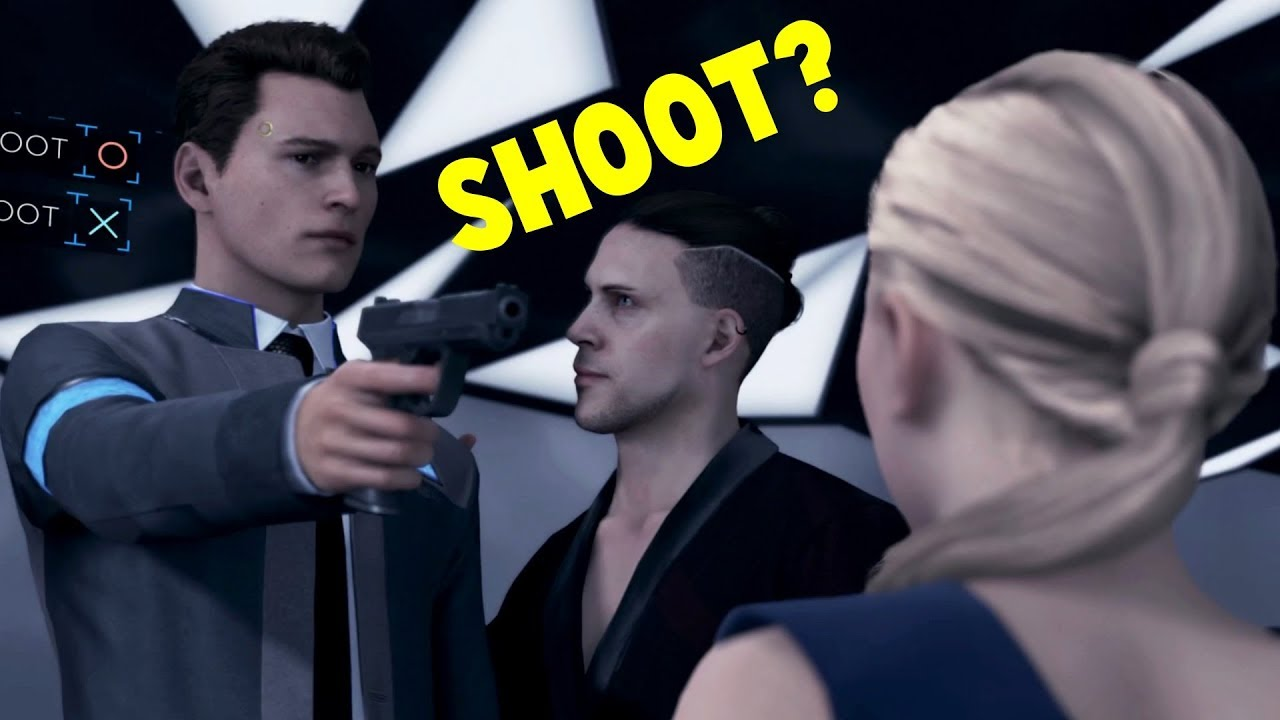Download Lagu Connor Shoot vs Don't Shoot Chloe - Detroit Become Human HD PS4 Pro Mp3 | Download ...