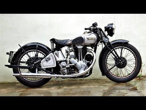 Norton ES2 1934 | Pure Sound & Start Up by Jaume Soler