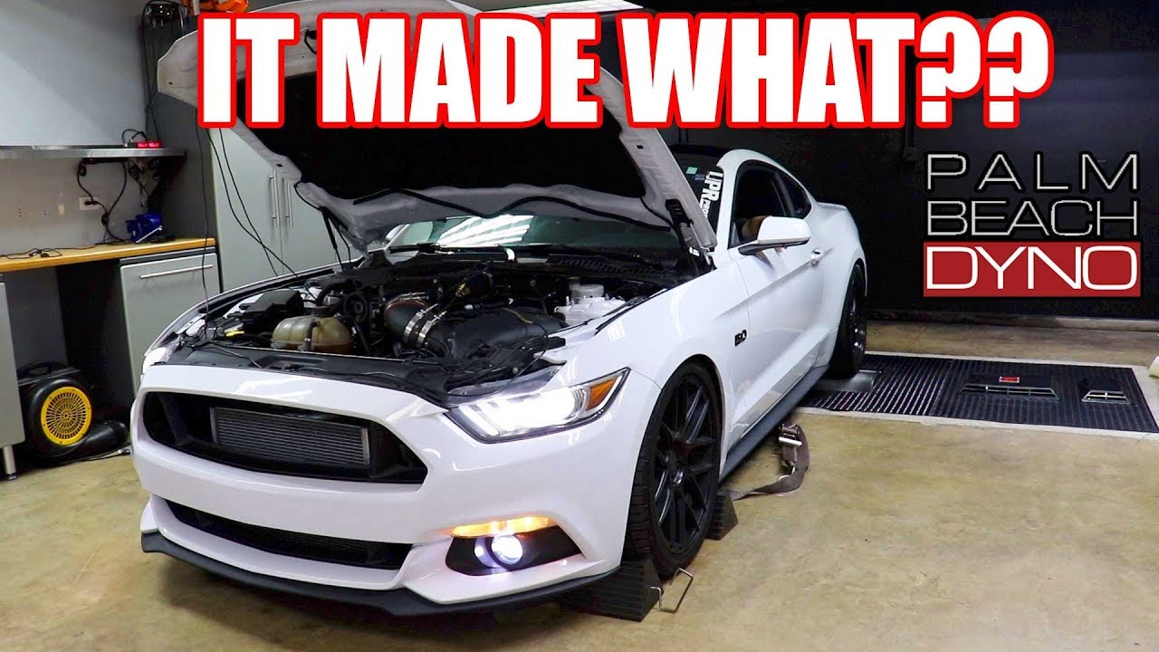 DYNO TUNING THE WHIPPLE S550! ** INSANE RESULTS!!!