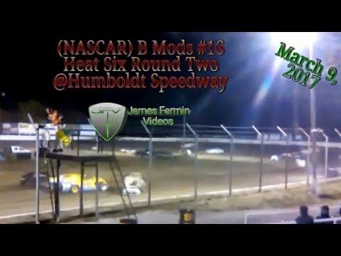 B Mods #16, Round 2 Heat 6, Thursday Night, Humboldt Speedway, 2017