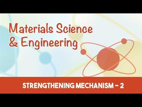 AMIE Exam Lectures- Materials Science & Engineering   Strengthening Mechanism - 2   7.4