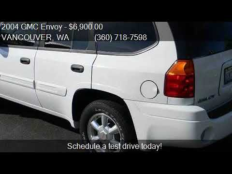 2004 GMC Envoy SLT 4WD 4dr SUV for sale in VANCOUVER, WA 986