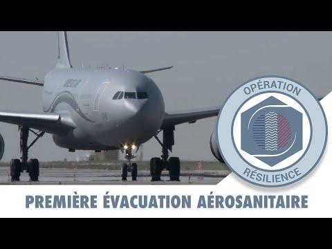 RÉSILIENCE : Première évacuation aéro sanitaire de l'A330 Phénix de l'Armée de l'air