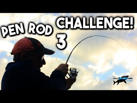 PEN ROD FISHING CHALLENGE - FISH SNAPPED MY ROD!! (Episode 3)