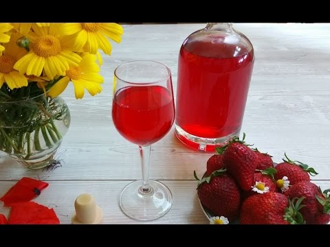 Ricetta fragolino,Liquore alle fragole, buono e gustoso