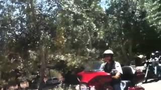 Llegada HOG Chile (Harley Davidson) a Club de Campo Rancagua