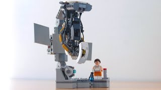 how to build Lego Glados from Portal 2 (Real version)