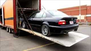 BMW e39 M5 Dinan Delivery Day
