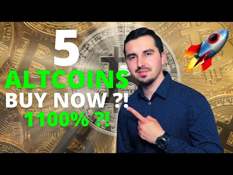 Top 5 Altcoins I'm Buying Now 🚀 | CRYPTO May 2021|  Massive Potential 1100% ?! 🚀| CRYPTO BOOM! 😱 |