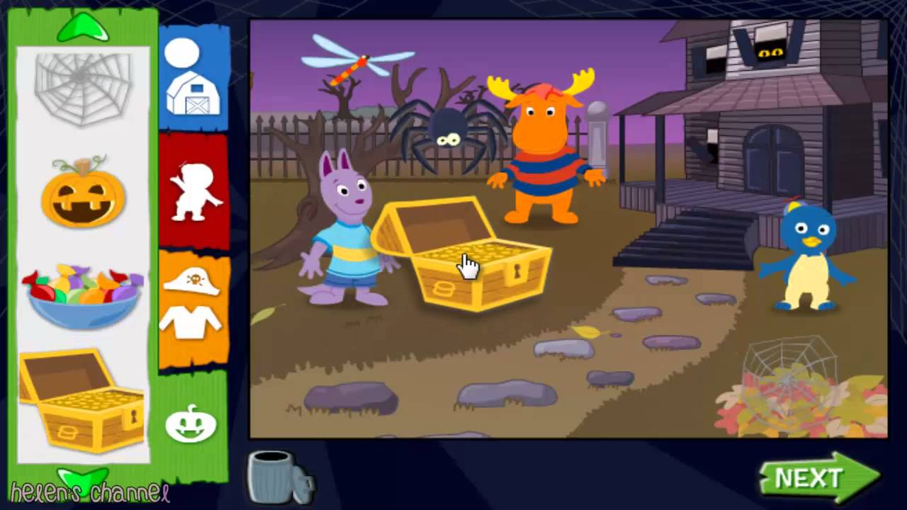 The Backyardigans - Trick or Treat with the Backyardigans! | Full ...