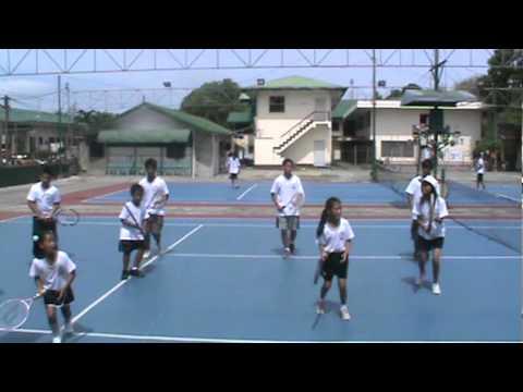 Junior Tennis Club (Tennis Dance) San Fernando, La Union.MPG
