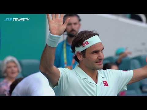 FANTASTIC Federer shots in win over Medvedev | Miami Open 2019