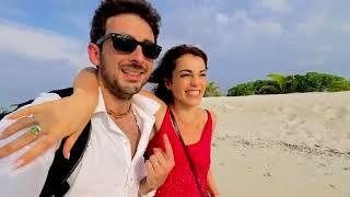 Медовый месяц Сати Казановой и Стефано Тиоцци на Мальдивах