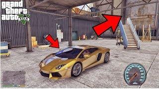 GTA 5: SECRET LOCATION FOR PURE GOLD LAMBORGHINI😍