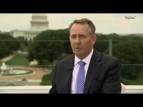 BrExit: Trade Secretary Liam Fox - Plans For Trading With US