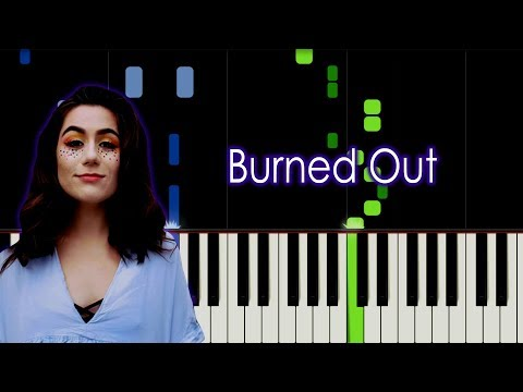 Dodie - Burned Out Piano Tutorial by elcyberguy