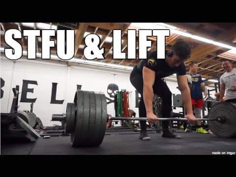 1 REP MAX TEST DAY - STFU & LIFT Ep. 1