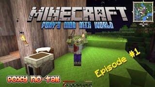 Minecraft - Foxy's Mod Mix [1] - Midnight Zombie Brawl