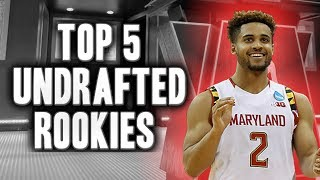 Top 5 Undrafted Players From The 2017 NBA Draft