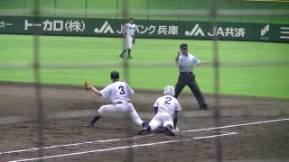 第98回全国高校野球選手権兵庫大会・2回戦。