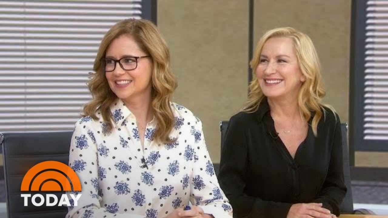 Jenna Fischer And Angela Kinsey Talk About Their New Office Podcast Today Youtube