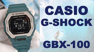 Обзор Casio G-Shock GBX-100 с шагомером и смарт функциями/ Модель 2020 года